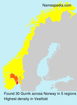 Surname Gurrik in Norway