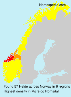 Surname Helde in Norway