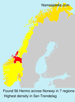 Surname Hermo in Norway