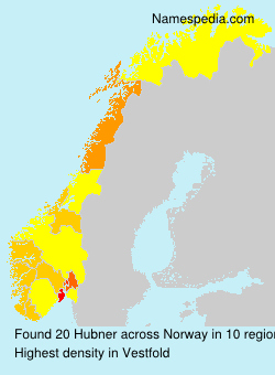 Surname Hubner in Norway