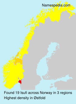 Surname Isufi in Norway