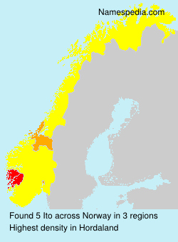 Surname Ito in Norway