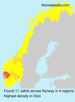 Surname Jalloh in Norway