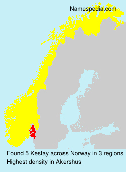 Surname Kestay in Norway