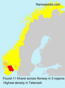 Surname Kharel in Norway