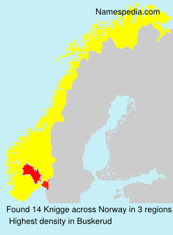 Surname Knigge in Norway