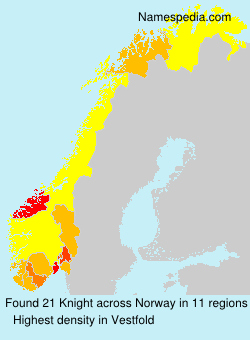 Surname Knight in Norway