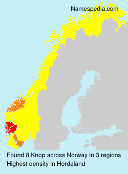 Surname Knop in Norway