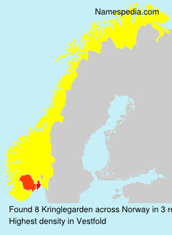 Surname Kringlegarden in Norway