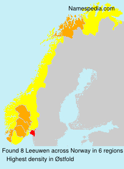 Surname Leeuwen in Norway