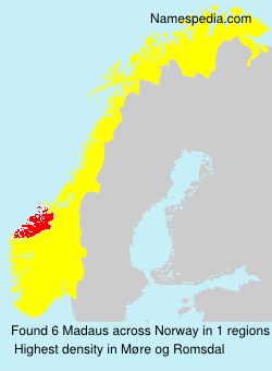 Surname Madaus in Norway