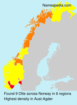Surname Otte in Norway