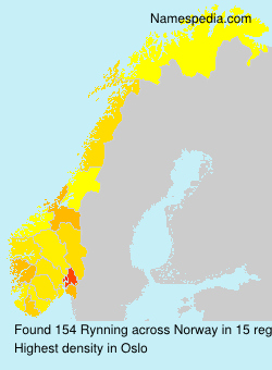Surname Rynning in Norway