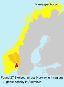 Surname Skolseg in Norway
