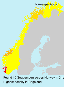 Surname Soggemoen in Norway