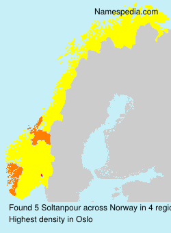 Surname Soltanpour in Norway