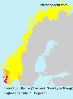 Surname Steinkopf in Norway