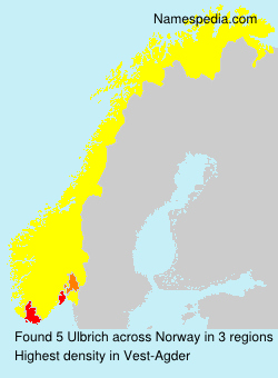 Surname Ulbrich in Norway