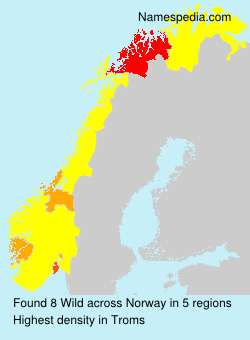 Surname Wild in Norway