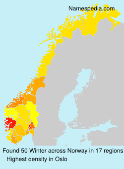 Surname Winter in Norway