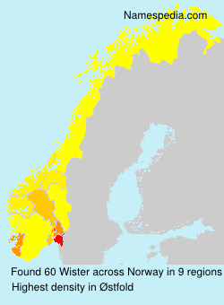 Surname Wister in Norway