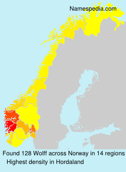 Surname Wolff in Norway