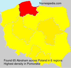 Surname Abraham in Poland