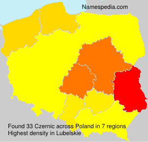 Surname Czernic in Poland