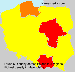 Surname Dlouchy in Poland