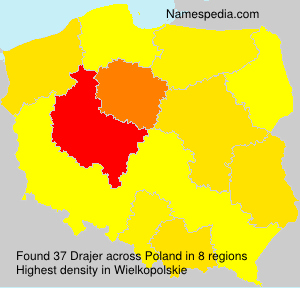 Surname Drajer in Poland
