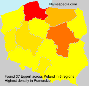 Surname Eggert in Poland