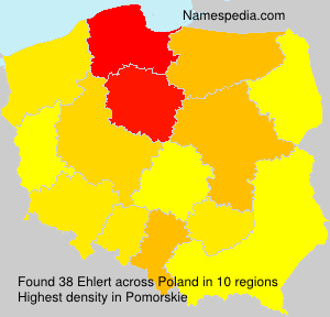 Surname Ehlert in Poland