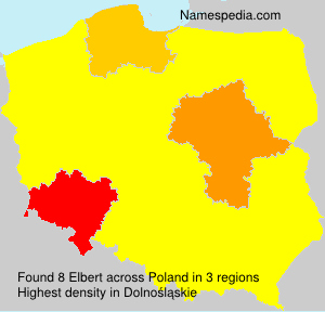 Surname Elbert in Poland