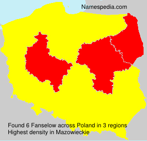 Surname Fanselow in Poland