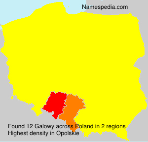 Surname Galowy in Poland