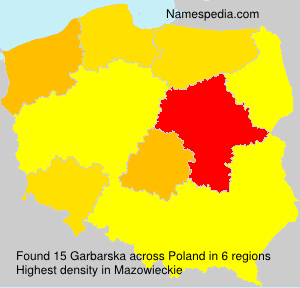 Surname Garbarska in Poland
