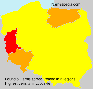 Surname Garnis in Poland