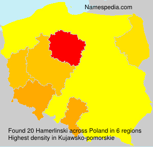 Surname Hamerlinski in Poland