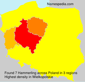 Surname Hammerling in Poland