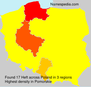 Surname Heft in Poland