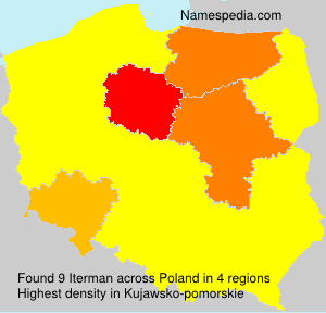 Surname Iterman in Poland