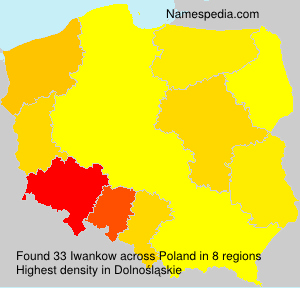 Surname Iwankow in Poland