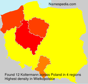 Surname Koltermann in Poland