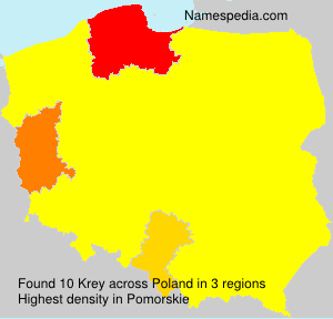 Surname Krey in Poland