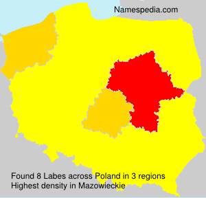 Surname Labes in Poland