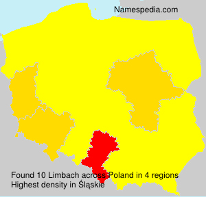 Surname Limbach in Poland