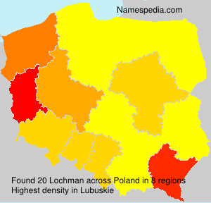 Surname Lochman in Poland