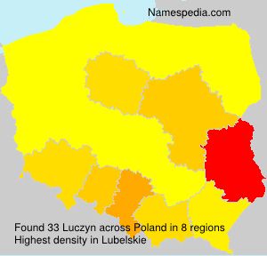 Surname Luczyn in Poland
