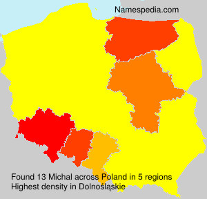 Surname Michal in Poland