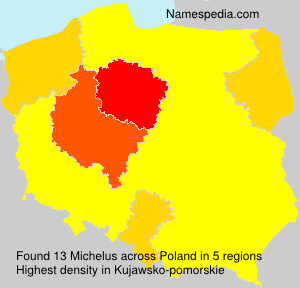 Surname Michelus in Poland